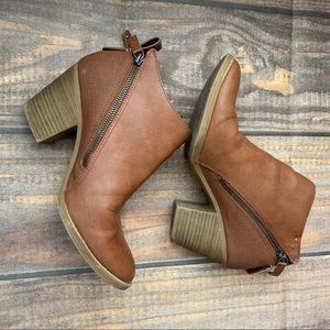 DV dolce vita brown booties size 8.5